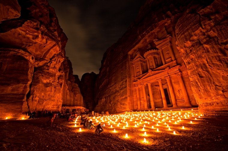 Petra by night, photo credit http://www.colbybrownphotography.com/