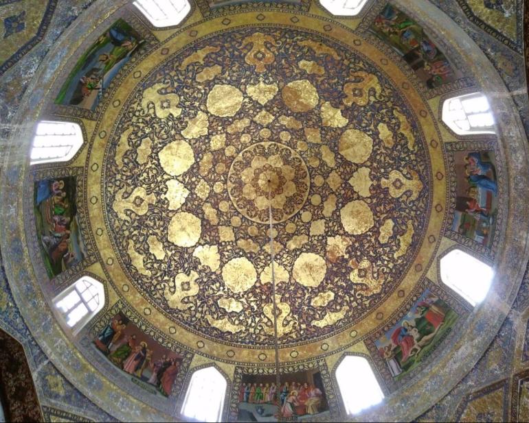 The intricate designs true to Persia
