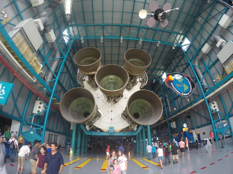The magnificent Saturn V