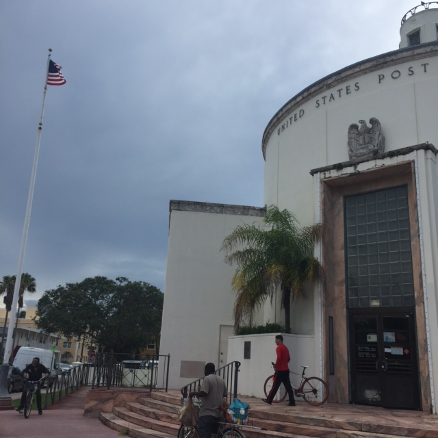 The Miami Post Office,  apparently barely used